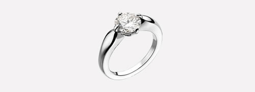 Griffe Solitaire Ring