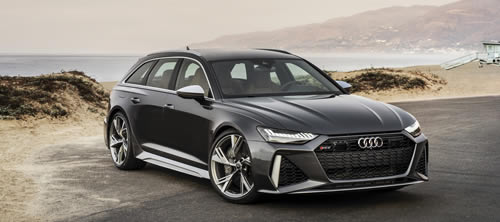 Audi Brings New RS6 Avant to America