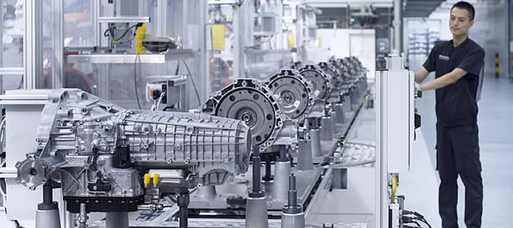 Audi Starts Production of Transmissions in China