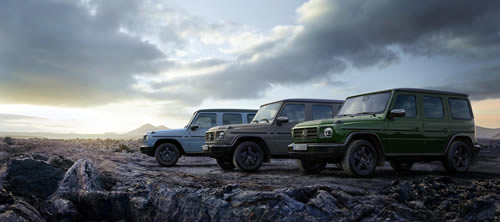 Mercedes-Benz Offers G-Class with Extensive Upgrades