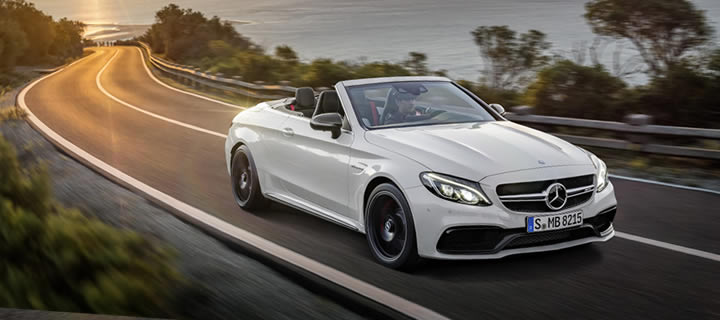 New C 63 Cabriolet from Mercedes-AMG