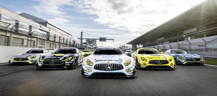 Mercedes-Benz Celebrates 50-Year Sucess of AMG