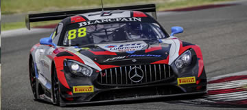 Mercedes-AMG Motorsport claims Blancpain GT World Challenge manufacturers' crown