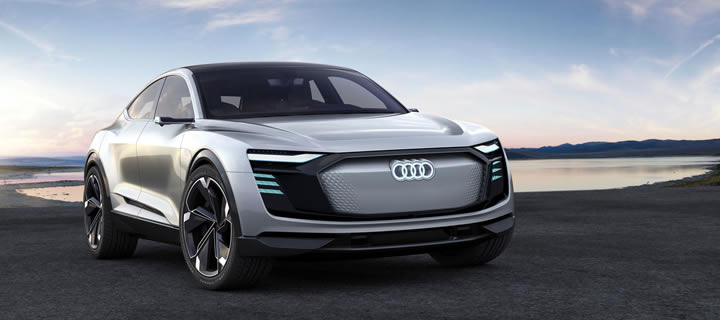 Audi Showcases the E-Tron Sportback Concept