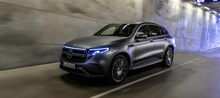 Mercedes-Benz Introduces the Fully Electric EQC
