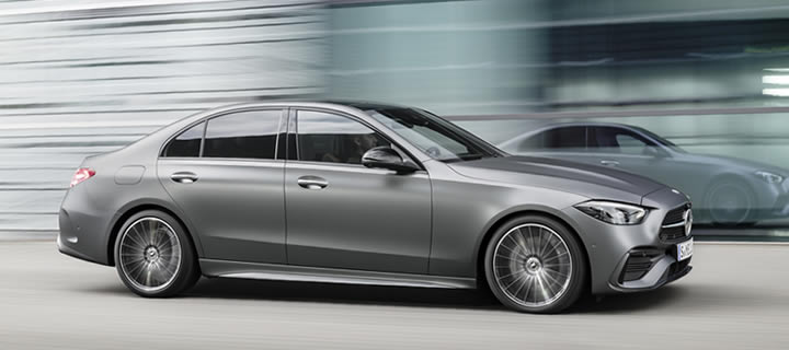Mercedes-Benz Presents Next Generation C-Class Saloon