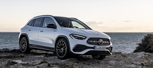 Mercedes-Benz Introduces New GLA