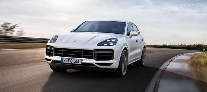 Porsche Introduces the 2019 Porsche Cayenne Turbo