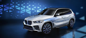 The BMW i Hydrogen NEXT at the IAA Cars 2019
