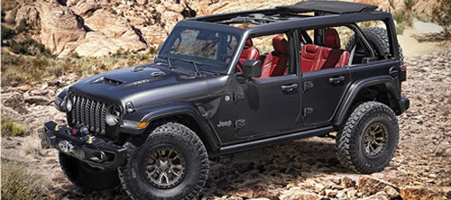 Jeep Introduces 6.4L V8 Wrangler Rubicon 392