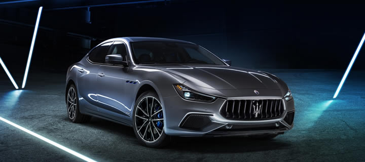Maserati's New Ghibli is First Hybrid in the Company's History