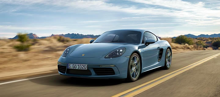 The new 2017 Porsche 718 Cayman