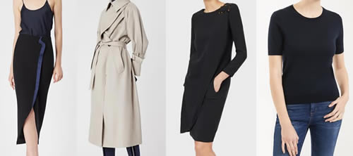 New Fashion Items from Giorgio Amarni and Max Mara