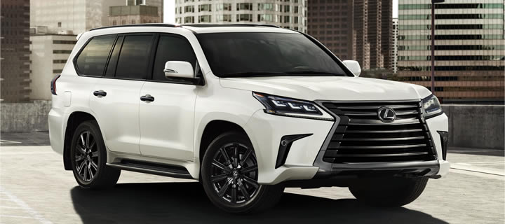 Lexus Upgrades LX570 Flagship SUV