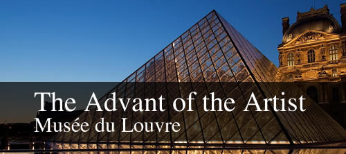 The Advent of the Artist Exhimibition at the Louvre
