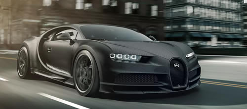 Bugatti Introduces Special Model Chiron Noire