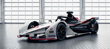 Porsche to Debut Formula E Electric Car