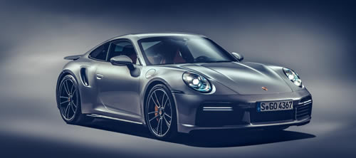 New Porsche 911 Turbo S