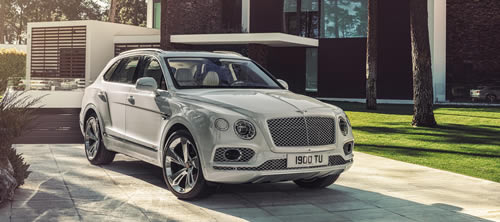 Bentley Produces Hybrid SUV