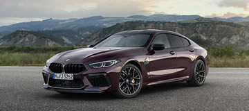 BMW Introduces New M8 Gran Coupé