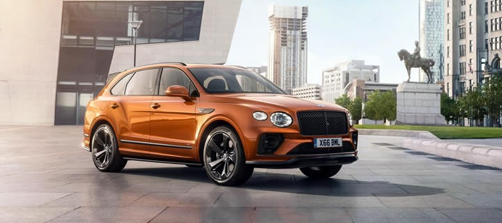 Bentley Announces New Accessories to Bentayga