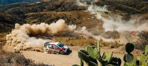 WRC Rally Guanajuato 12-15 March 2020