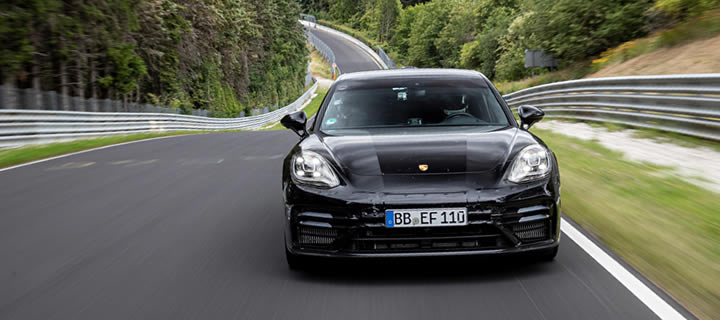 Upcoming Panamera Is the Fastest Executive Saloon at Nordschleife