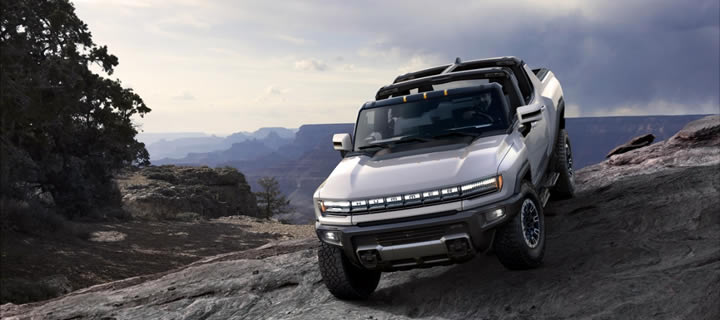 GM Unveils HUMMER EV - A Pickup Truck that Accelerates to 60 mph in 3 Seconds