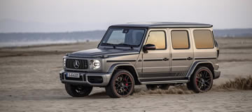 Possible G-Class EV from Mercedes-Benz